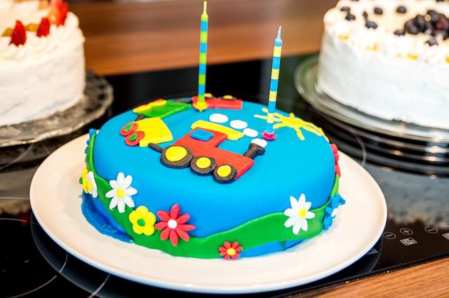 Schaubäckerei Calvörde: Geburtstagskuchen