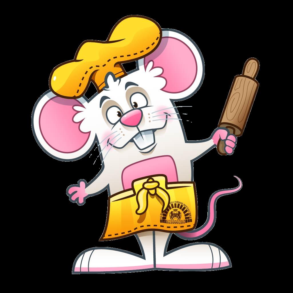 Maskottchen Maus